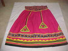 RANI PINK Black GOLD Silver SKIRT BANJARA LENGHA SUPERB Ghagara Sari BELLY DANCE