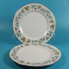 MS Fine China of Japan VINTAGE 6701 Bread & Butter Plates Plate Set of 2
