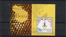 Dominica Commonwealth 2013 MNH Wasps & Bees 1v S/S Insects Golden Paper Wasp