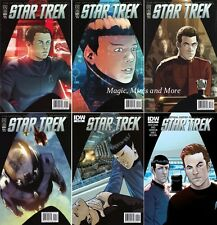 Star Trek OFFICIAL MOVIE ADAPTATION Comic (6) Issue SET #1 2 3 4 5 6 IDW 1st lot