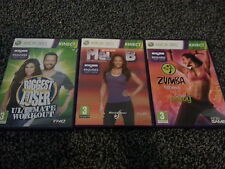 ZUMBA FITNESS + Biggest Loser + Lets Get fit with MEL B - XBOX 360 Kinect