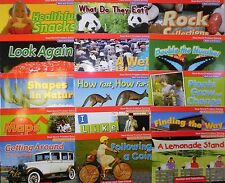 Elementary Math Connects 1st Grade Level 1 Real-World Problem Solving 15 Books