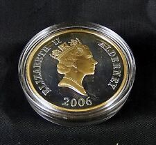 Queen Elizabeth 80th Birthday Alderney 2006 Silver .925 £5 Proof Coin