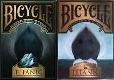 Bicycle Titanic Life & Death Playing Cards 2 Deck Set - Limited Edition - SEALED