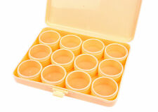 Proops 12 Clear Lid Compartments Storage Box for Beads Findings Jump Rings S7228