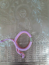 THAI HANDMADE BEAUTIFUL FRIENDSHIP LOVE & PROTECTION TEXTILE BRACELET BLESSED (5