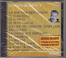 CD NEUF GEORGES BRASSENS LA MAUVAISE REPUTATION 1
