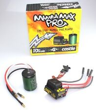 Castle Creations Mamba Max Pro ESC + 1406 Series 5700kV Brushless Motor Combo