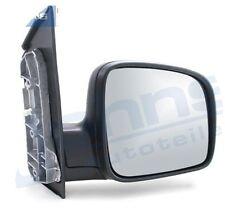 For Volkswagen Caddy Van 2004-2010 Manual Black Wing Door Mirror Drivers Side
