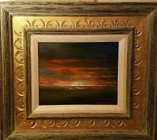 "Original Oil ""The last sunset on Earth"" by Californian artist Ivan Trifonoff"