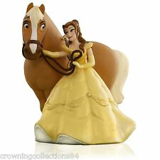 2015 Hallmark Belle Girl's Best Friend Horse Ornament Disney Beauty & The Beast