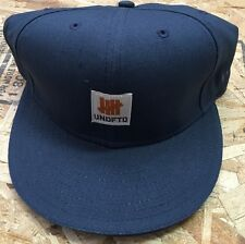 Undefeated X New Era Price Of Success Is Hard Work Fitted Hat Blue Sz 7 3/4 NWT