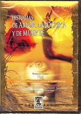 NEW/SEALED HISTORIAS DE AMOR, DE LOCURA Y DE MUERTE LATIN MEDIA SPANISH DVD