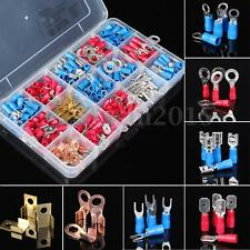 298Pcs Assorted Insulated Electrical Wire Terminals Connectors Crimp Set in Case