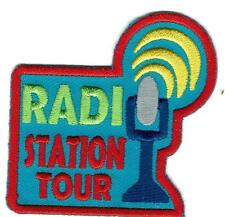 Girl Boy Cub RADIO STATION TOUR Visit Broadcast Patches Crest Badges SCOUT GUIDE