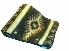 "Classic Medallion Brush Alpaca Blend Recycled Wool Blanket Reversible 78""x 96"""