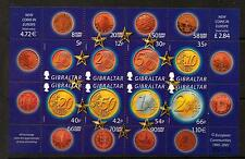 GIBRALTAR SGMS995 2002 EURO CURRENCY MNH