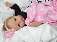 PRECIOUS LOVE! Lifelike Moving 22 Inch Pacifier Baby Girl Doll + 2 Outfits