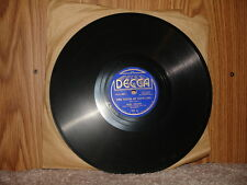 Decca 757 Bing Crosby - The Touch of Your Lips / Twilight On The Trail 1936 10""