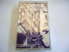 NEW Death Courier Necrorgasm US VINTAGE 1991 TAPE CASSETTE C3 WILD RAGS MUSIC