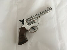 Vintage (made in Hong Kong) Toy Plastic Gun/Pistol -Works! Trigger action/sound!