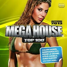 MEGA HOUSE TOP 100 AUTUMN 2013 5 CD NEU AUDIOBOT/BASSJACKERS/ZAK WATERS