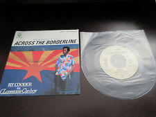 "Ry Cooder Across The Borderline Japan Promo only Vinyl 7 inch Single 7"" Big City"