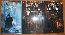 Lot 3 Livres LE TRONE DE FER Tome 13 à 15 de George R.R. MARTIN GAME OF THRONES