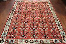 Authentic New Hand Made Bessarabian Turkish Kilim 8'7  X 10'8 Flatweave Wool Rug