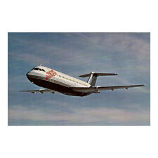 Pacific Express Airlines - BAC 1-11 - Aircraft Postcard - Good Quality