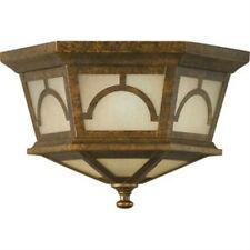 Murray Feiss Outdoor Flush Mount Light Fixture Elegant Outside Decor Lamp 60W