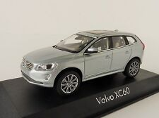 VOLVO XC60 2013 electric silver 1/43 Norev 870022 XC 60 SUV SILBER