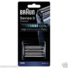 Braun Cassette Kassette 32S Klinge +Scherfolie Rasierer Serie 3 neu  Wwide