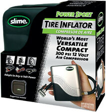 SLIME POWER SPORT TIRE INFLATOR 300 PSI 12 VOLT