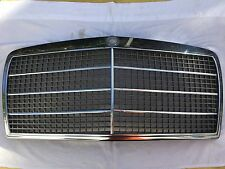 Chrom Kühlermaske Kühlergrill chrome radiator grille Mercedes Benz DB W116 W 116