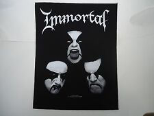 IMMORTAL ONE BY ONE BACK PATCH