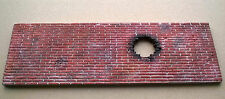 Diorama Zubehör Mauer/Brick wall 1:16, Gießkeramik ( Gips ) für Figuren (G3)