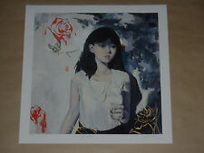 Helice Wen Connection Hand Embellished signed numbered print poster Soey Milk