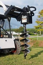 "Bobcat Skid Steer Attachment Lowe 750 Classic Round Auger with 15"" Bit Ship $199"
