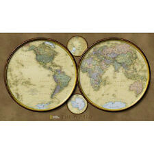 World Hemispheres (National Geographic: Reference Map) (Reference - World) [M...