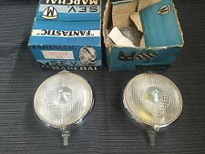 Porsche 356 ferrari 275 NOS pair Marchal 660 fog lights 60's super rare in boxes