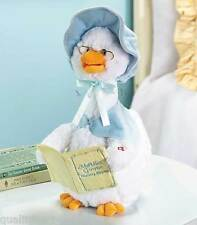 Plush Animated Mother Goose Automated Story Teller Toy Hot Item All Kids Gifts