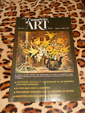 JOURNAL DE L'AMATEUR D'ART n° 629, 01/07/1978 - Rouault, Manessier...