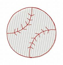 Baseball 47 Machine Embroidery Designs on multi-formatted CD