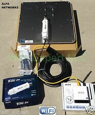 ALFA APA-L2419 19dBi + R36 + TUBE 2H PoE Outdoor Booster Cat5e GET FREE INTERNET