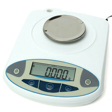 100 x 0.001g 1mg Digital Lab Analytical Balance Electronic Precision Scale