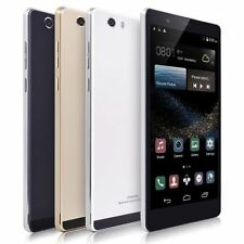 """Unlocked 6"""" Cellphone Android 4.4 2Sim Straight Talk AT&T 3G+GSM Smartphone GPS"""