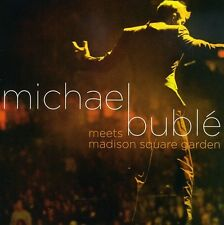 Michael Buble Meets Madison Square Garde - Michael Bub (2009, CD NEUF)2 DISC SET