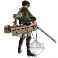 NEW Attack on Titan Levi Ichiban Kuji A 3D Maneuver Gear Figure Banpresto NIB