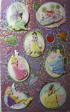 NEW DISNEY PRINCESS Tiana Ariel Aurora Cinderella 3D Stacked Stickers SANDYLION